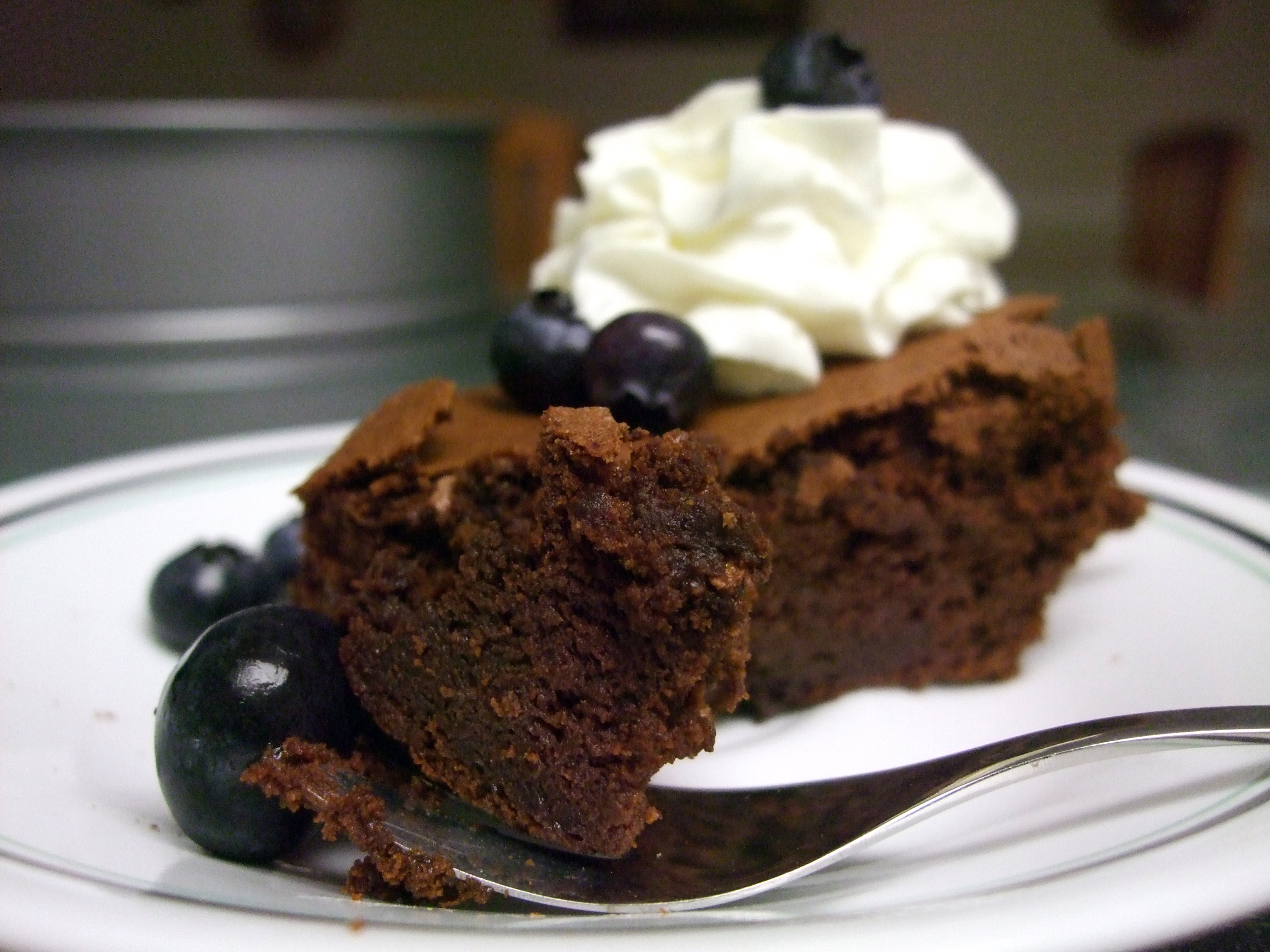 Fallen Chocolate Soufflé Cake – slightly adapted from Sea Salt with ...